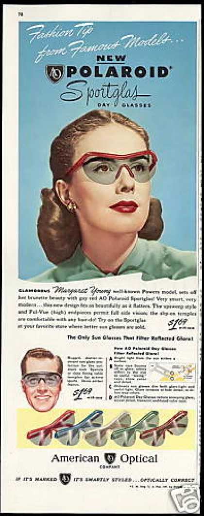 Polaroid Sportglas Sunglasses American Optical (1947)