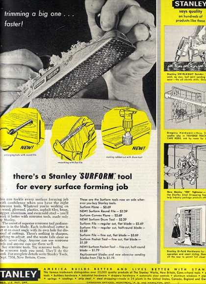 Stanley's Surform Tool (1960)