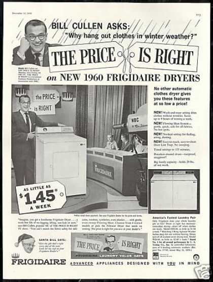 Bill Cullen Photo Price Is Right Frigidaire (1959)