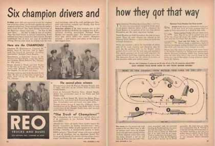 REO Motors – Six Champion Drivers (1947)