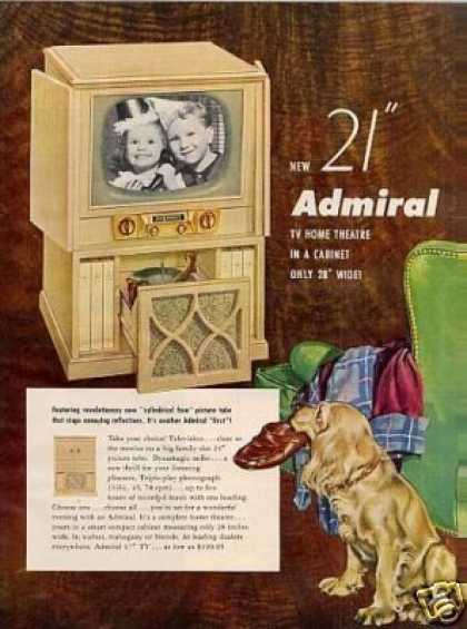 Admiral Television (1952)