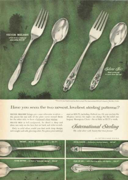 International Sterling Silver Dinnerware (1955)