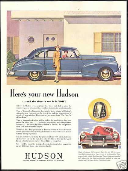 Hudson Commodore Sedan Car Vintage (1946)
