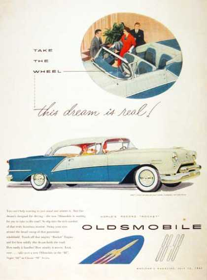 Oldsmobile 98 Holiday Coupe #1 (1954)