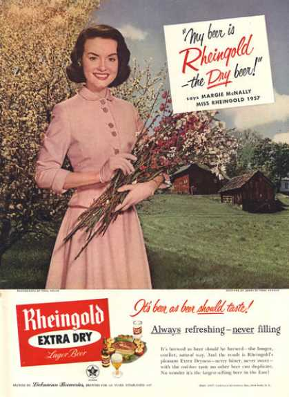 Rheingold Beer Country Park Ave Costume (1957)