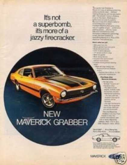 Ford Maverick Car (1970)
