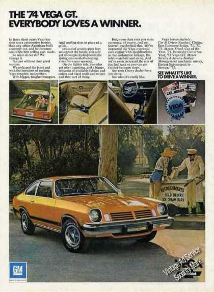 Chevrolet Vega Gt Photos Car (1974)