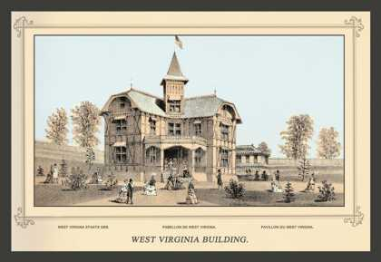 West Virginia Building, Centennial International Exhibition (1876)
