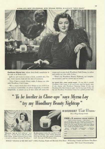 Woodbury Beauty Face Cold Cream (1941)