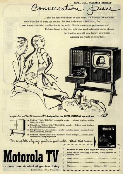 Motorola – Conversation Piece (1951)