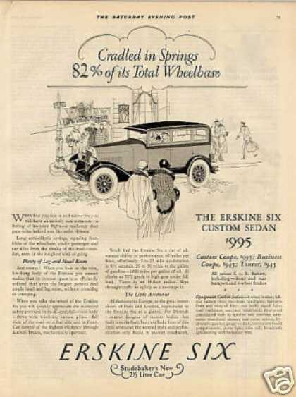 Erskine Six Custom Sedan (1927)