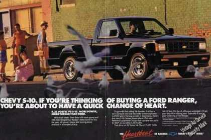 Chevrolet S-10 Pickup Truck Large (1987)
