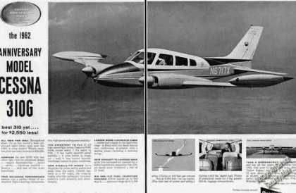 Cessna 310g Photos 2 Page (1962)