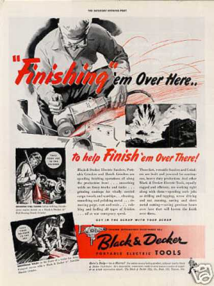 Black & Decker Tools (1942)