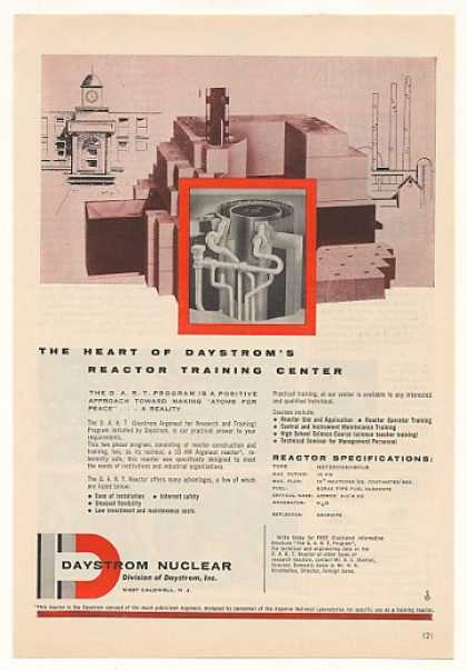 Daystrom Nuclear Reactor Construction Training (1957)