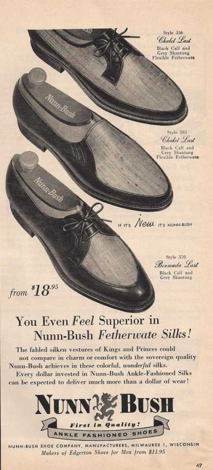 Nunn Bush Mens Dress Shoes (1957)