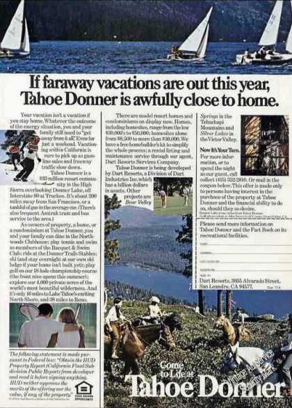 Come To Life at Tahoe Donner Nice Vacations (1974)