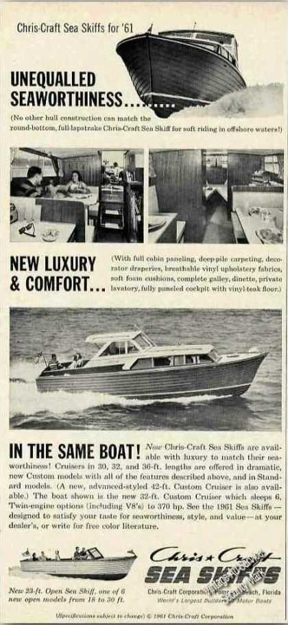 Chris-craft Sea Skiff Photos Boat (1961)