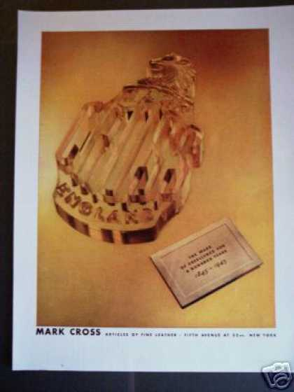Mark Cross Fine Leather 5th Ave Ny (1945)