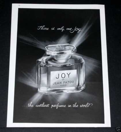 Old , Joy De Jean Patou, Perfume (1964)