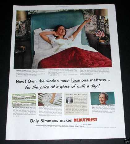 Simmons Beautyrest Mattress (1950)