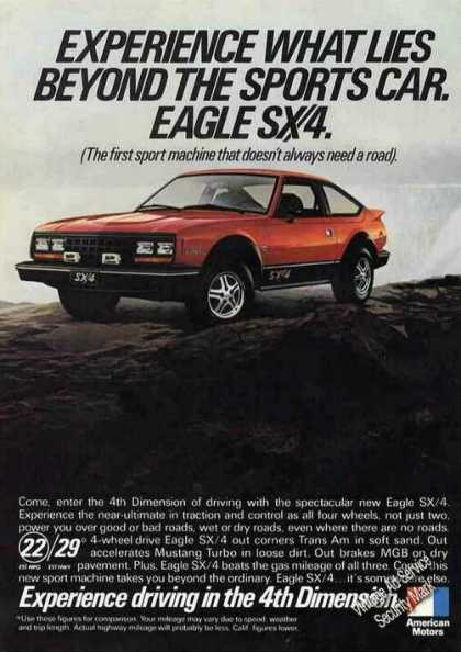 "Amc Eagle Sx/4 ""Driving In the 4th Dimension"" (1981)"