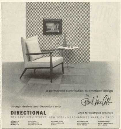 Paul Mccobb Design Furniture Chair (1955)