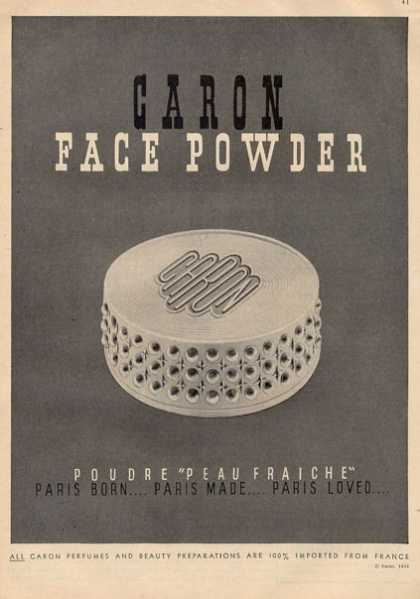 Caron Peau Fraiche Face Powder (1951)