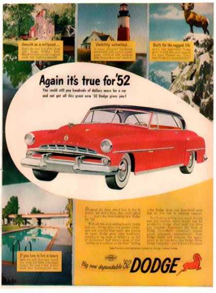 Dodge Gyro-Matic Car – Big Dependable Dodge (1952)
