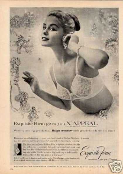 Exquisite Form Bra (1956)