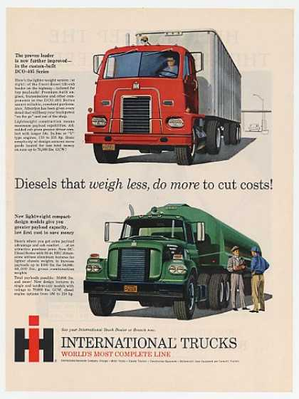 IH International Diesel 405 & 190 Truck Trucks (1960)