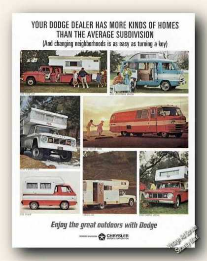 Dodge Campers/pickups (1966)