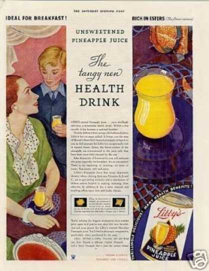 Libby's Pineapple Juice (1934)