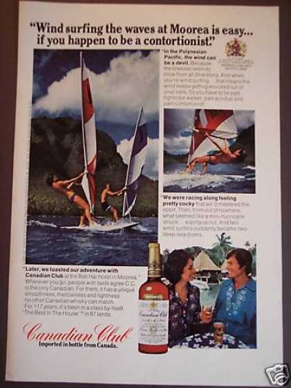 Canadian Club Whisky Wind Surfing (1975)