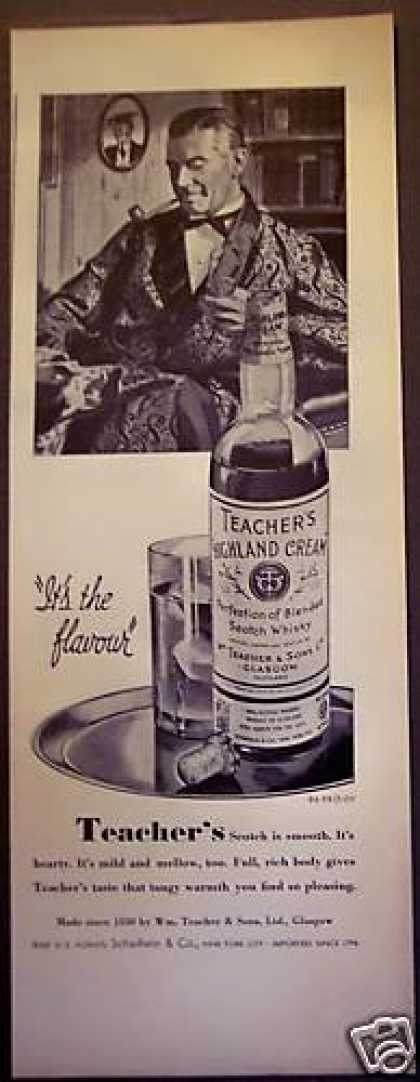Teacher's Scotch Whisky Man W/ Dog (1938)