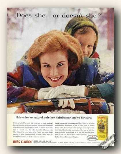 Does She . . . or Doesn't She? Clairol (1961)