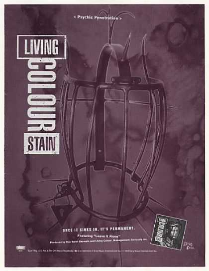 Living Colour Stain Epic Records (1993)