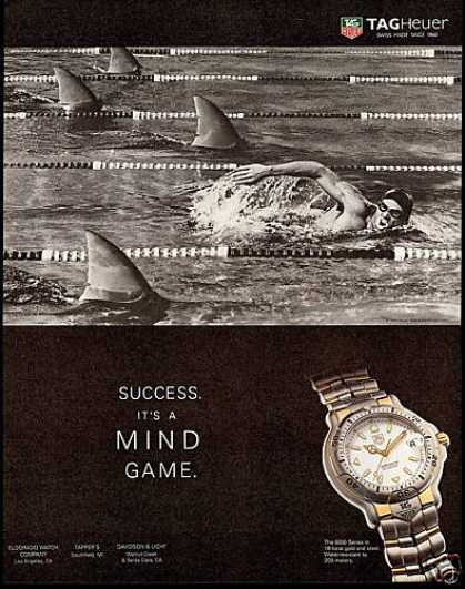 Tagheuer Watch Swim Sharks Tag Heuer (1996)