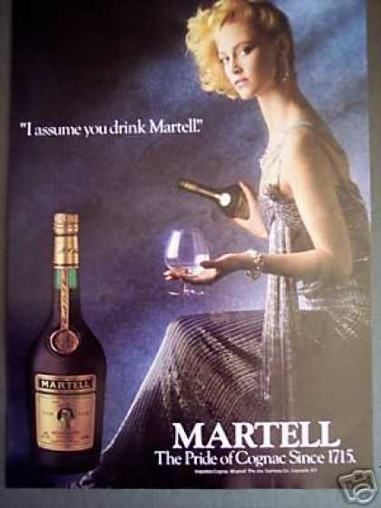 Martell Cognac Photo (1985)