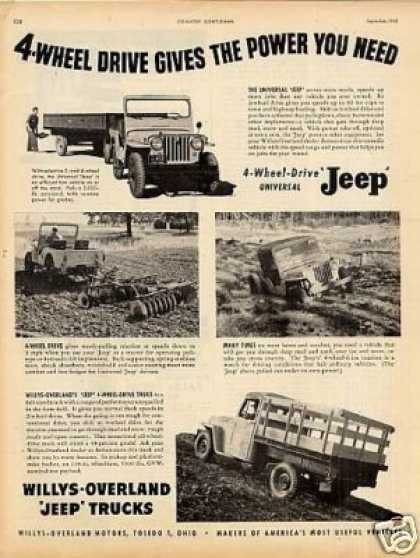Willys-overland Universal Jeep & Truck (1949)