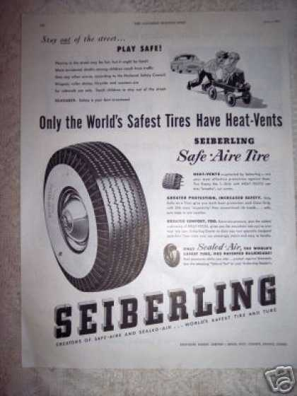 Seiberling Tires (1949)
