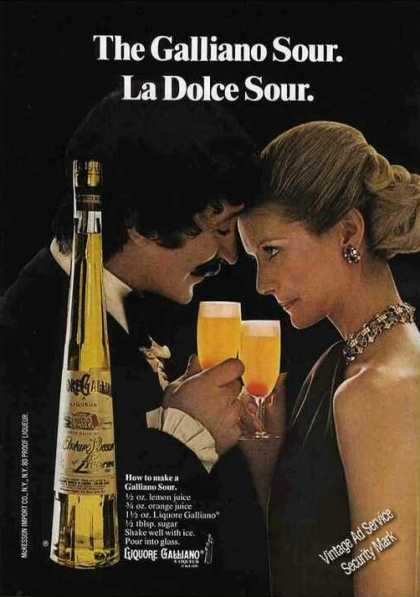The Galliano Sour La Dolce Sour Nice (1974)