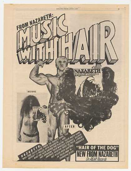 Nazareth Hair Of The Dog Album Promo (1975)