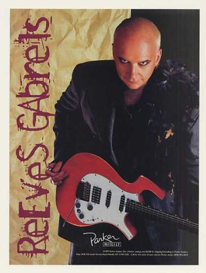 Reeves Gabrels Parker Nitefly Guitar Photo (1997)