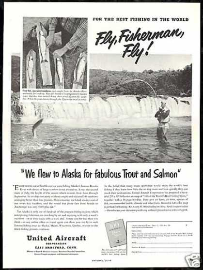 Alaska Fishing Brooks River United Aircraft (1952)