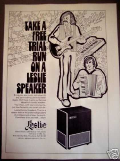 Leslie Model 825 Speaker Music (1973)