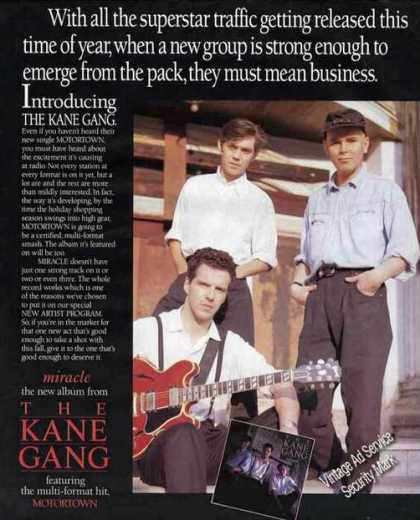 The Kane Gang Photo Miracle Album Promo (1987)