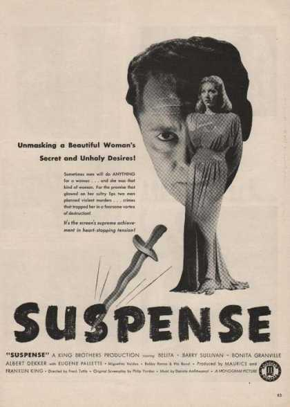 Suspense Barry Sullivan Movie (1946)