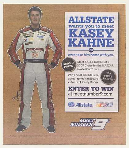 NASCAR Kasey Kahne Allstate Insurance (2007)