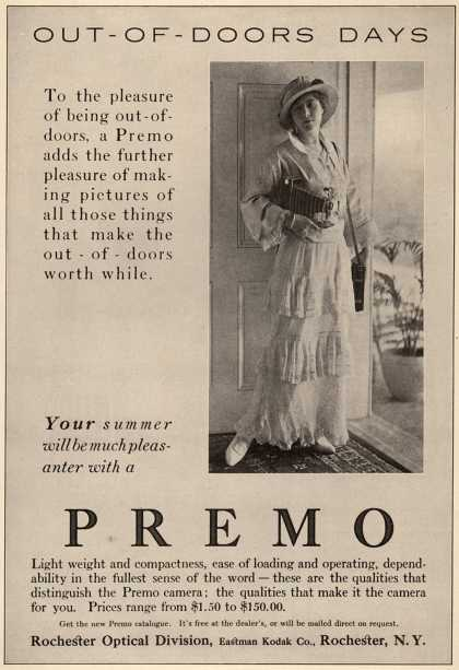 Kodak's Premo cameras – Out-Of-Doors-Days (1915)